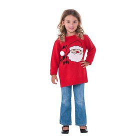 Children's Santa Christmas Sweater