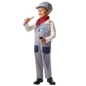 Children's Thomas And Friends Conductor Play Box Set Kids Costume