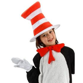 Childs Dr Seuss Cat In the Hat Accessory Kit