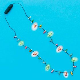 "Christmas Light-Up 32"" Necklace (Each)"