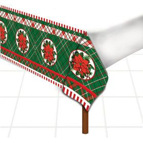 Christmas Plaid Table Cover (1)