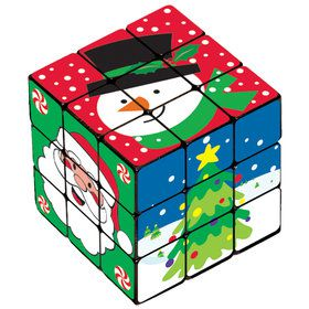 Christmas Puzzle Cube (6 Count)