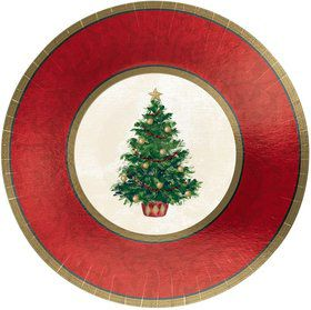 "Christmas Tree 7"" Plates (8 Pack)"
