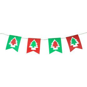 Christmas Tree Flag Banner