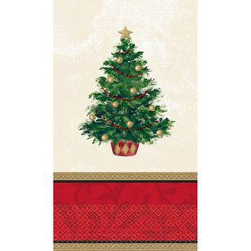 Christmas Tree Guest Towels (16 Pack)