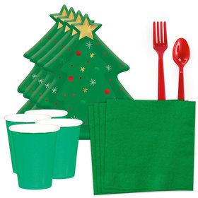 Christmas Tree Standard Tableware Kit (Serves 8)