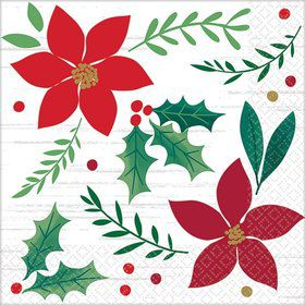 Christmas Wishes Beverage Napkins (16)