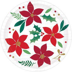 Christmas Wishes Dessert Plates (8)