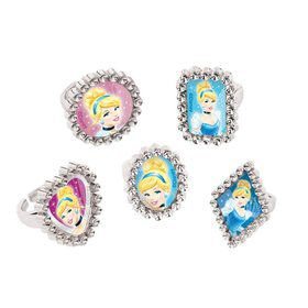 Cinderella Jewel Ring Favors (18 Pack)
