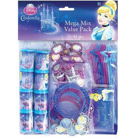 Cinderella Mega Mix Favor Pack (For 8 Guests)