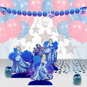 Cinderella Party Decoration Kit