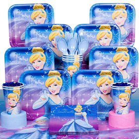 Cinderella Party Deluxe Box Serves 8 Guests