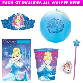 Cinderella Party Favor Kit
