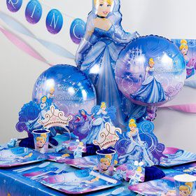 Cinderella Party Ultimate Box Serves 8 Guests