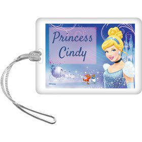 Cinderella Personalized Bag Tag (Each)