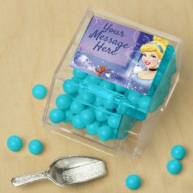 Cinderella Personalized Candy Bin with Candy Scoop (10 Count)
