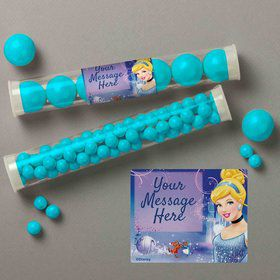 Cinderella Personalized Candy Tubes (12 Count)