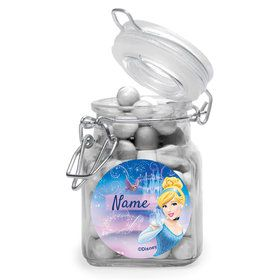 Cinderella Personalized Glass Apothecary Jars (12 Count)