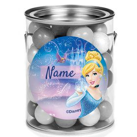 Cinderella Personalized Mini Paint Cans (12 Count)