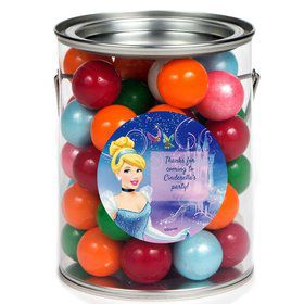 Cinderella Personalized Paint Can Favor Container (6 Pack)