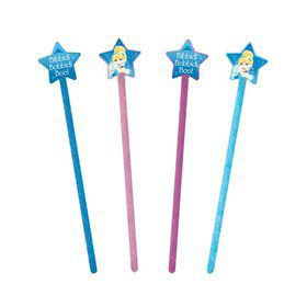 Cinderella Princess Wands (12 Pack)