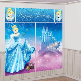 Cinderella Scene Setter Wall Decorating Kit (Each)