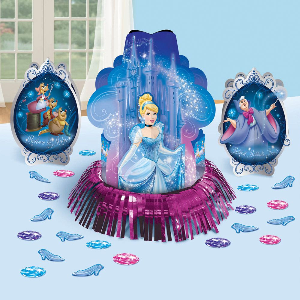 Cinderella Table Decorating Kit (Each) - Party Supplies BB283840