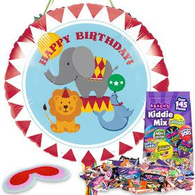 Circus Birthday Pull String Economy Pinata Kit