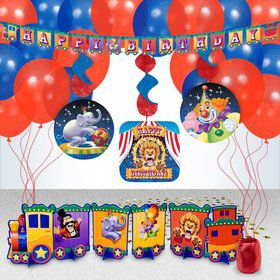 Circus Party Decoration Kit