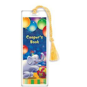 Circus Party Personalized Bookmark (each)