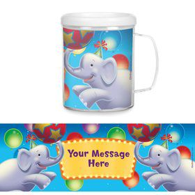 Circus Party Personalized Favor Mugs (Each)