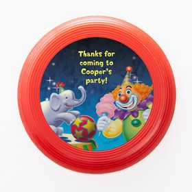 Circus Party Personalized Mini Discs (Set of 12)
