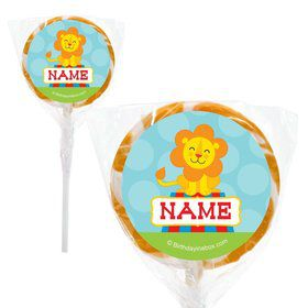 "Circus Personalized 2"" Lollipops (20 Pack)"