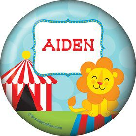 Circus Personalized Button (each)