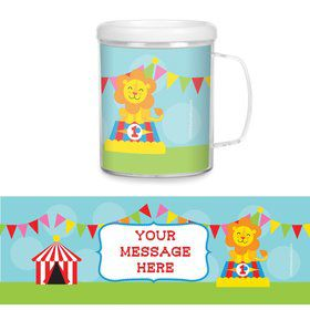 Circus Personalized Favor Mugs (Each)