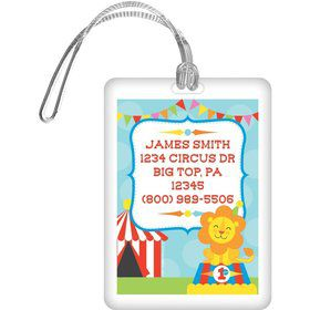 Circus Personalized Luggage Tag (each)