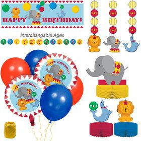 Circus Time Decoration Kit