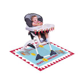 Circus Time High Chair Decorating Kit