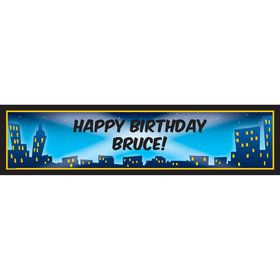 City Lights Personalized Banner (each)
