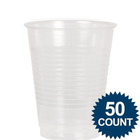 Clear Plastic 12 oz. Cup, 50 ct.