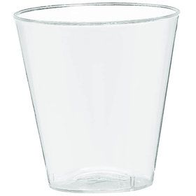 Clear Plastic 2oz Shot Glasses (100 Count)