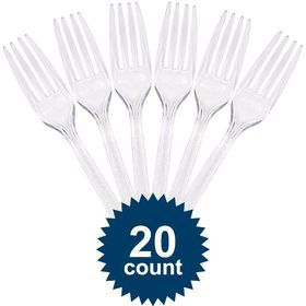 Clear Plastic Forks