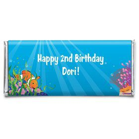 Clownfish Personalized Candy Bar Wrapper (Each)