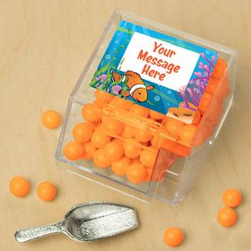 Clownfish Personalized Candy Bin with Candy Scoop (10 Count)