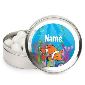 Clownfish Personalized Candy Tins (12 Pack)