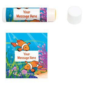 Clownfish Personalized Lip Balm (12 Pack)