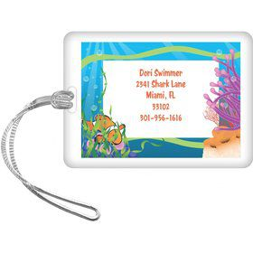 Clownfish Personalized Luggage Tag (each)