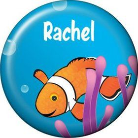 Clownfish Personalized Mini Button (each)