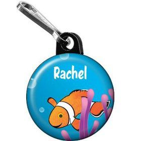 Clownfish Personalized Mini Zipper Pull (each)