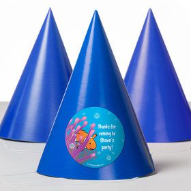 Clownfish Personalized Party Hats (8 Count)